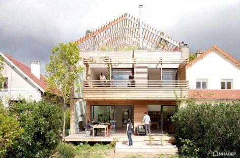 Ngôi nhà thông minh và độc đáo ở ngoại ô Paris