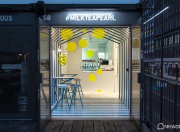 Cửa hàng trà sữa và trân châu được thiết kế bởi atelier YAO