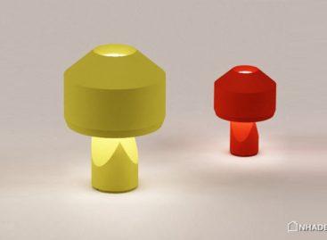 Thiết kế lạ mắt của chiếc đèn gốm Dot Light