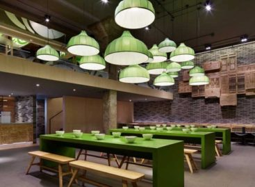 Kiến trúc của nhà hàng Mr Lee Noodle House