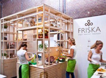 Thiết kế độc đáo của cửa hàng thực phẩm Friska ở Amsterdam