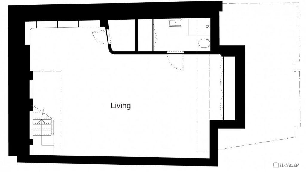 Thiet-ke-dep-mat-cua-ngoi-nha-Mews House Primrose Hill_20