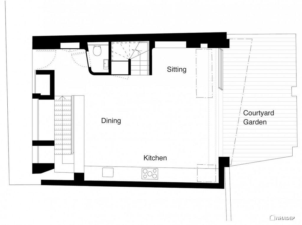 Thiet-ke-dep-mat-cua-ngoi-nha-Mews House Primrose Hill_21