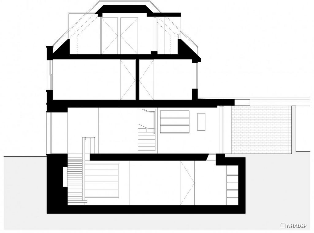 Thiet-ke-dep-mat-cua-ngoi-nha-Mews House Primrose Hill_25
