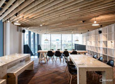 Thiết kế không gian linh hoạt của quán café Studio Tilt