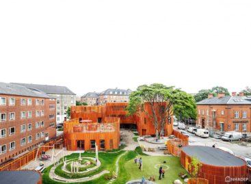 Trường mẫu giáo Forfatterhuset được thiết kế bởi COBE