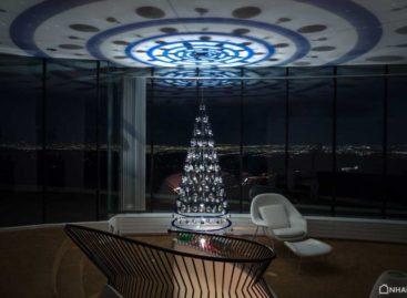 Chiêm ngưỡng vẻ đẹp của cây thông Noel mang phong cách hiện đại