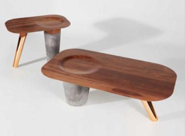Lạ mắt với bộ bàn CS1 được thiết kế bởi studio Astfrei