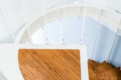 Lạ mắt với cầu thang xoắn ốc được thiết kế bởi công ty Jo-a
