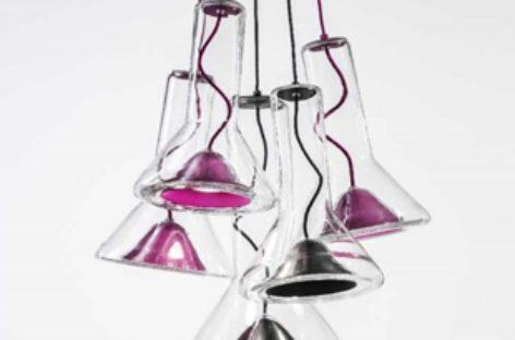 Thiết kế hình chiếc kèn của bộ sưu tập đèn treo Whistle