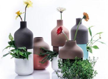 Lạ mắt với bộ sưu tập bình hoa Bothles của Aaido Ma