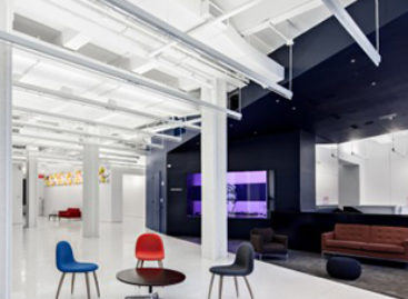Thiết kế hiện đại của văn phòng Red Bull, New York