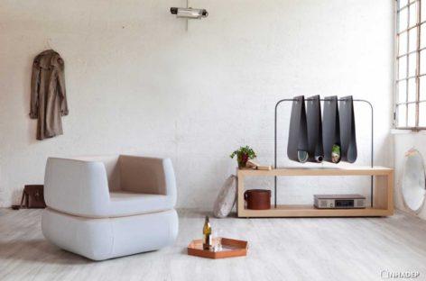 Thiết kế thanh lịch của chiếc ghế bành Polda