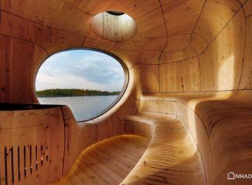 Thiết kế độc đáo của phòng xông hơi Grotto