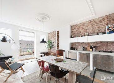 Yếu tố công nghiệp trong một căn hộ hiện đại và phong cách