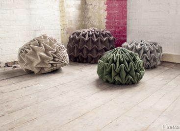 Chiếc ghế bằng vải nỉ độc đáo của Jule Waibel