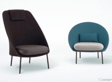 Hai mẫu ghế ngoài trời Twins đáng yêu của hãng thiết kế Mut Design