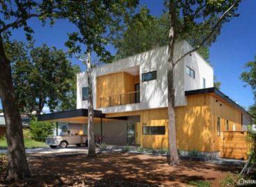 Ấn tượng với ngôi nhà hình chữ U thiết kế bởi Matt Fajkus