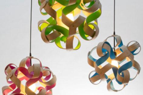 Ấn tượng với chiếc đèn Plane Cloud lấy ý tưởng từ dăm bào gỗ