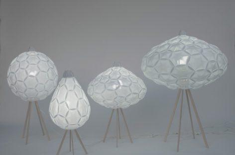 Lạ mắt với bộ sưu tập đèn hình đám mây