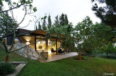 Sự kết nối giữa thiên nhiên và ngôi nhà nghỉ trên núi tại Tây Ban Nha