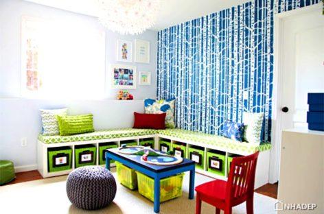 8 ý tưởng tạo không gian lưu trữ cho phòng trẻ em