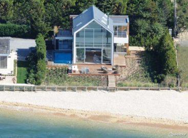 Ngôi nhà ở vịnh Little Peconic được thiết kế bởi công ty Naiztat + Ham Architects