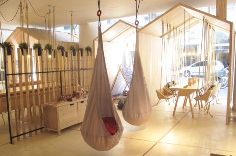 Thiết kế vui nhộn của quán café Fiii tại Buenos Aires