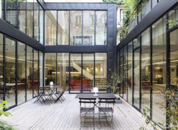 Văn phòng mới của PCA được cải tạo từ nhà in cũ