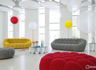 Ghế sofa hình bong bóng của Roche Bobois