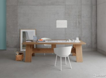 Bộ bàn ghế từ ván gỗ của David Chipperfield