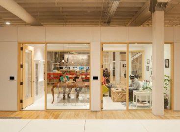 Không gian linh hoạt của văn phòng Airbnb