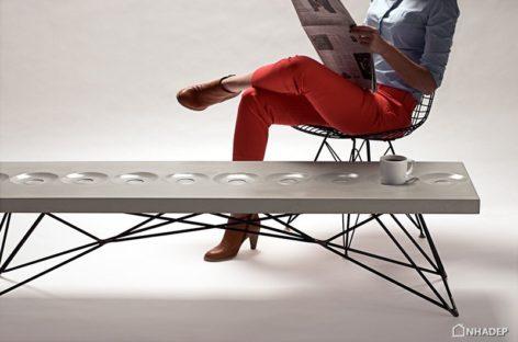 Chiếc bàn cà phê Orson với thiết kế độc đáo của nhà thiết kế Bradon Gore