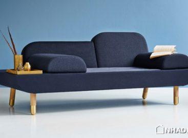 Ghế sofa Toward có thể tạo hình để phù hợp với các kiểu ngồi khác nhau