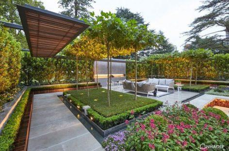 Khu vườn đoạt huy chương vàng được thiết kế bởi Nathan Burkett