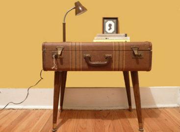 Ý tưởng độc đáo làm đẹp nhà từ những chiếc vali cũ