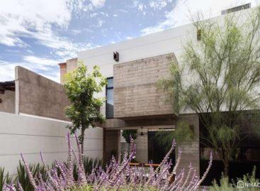Tham quan ngôi nhà cổ ở Mexico được cải tạo hiện đại