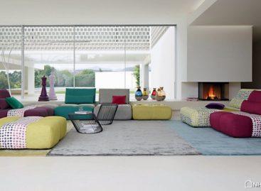 Sofa PARCOURS được thiết kế bởi Sacha Lakic Design