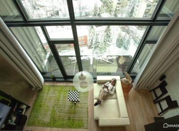 Ấn tượng với căn hộ áp mái được thiết kế dành cho những người yêu thích tự do