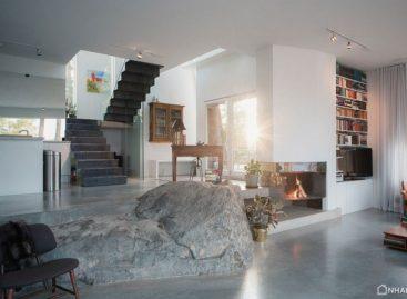 Biệt thự hiện đại được bao quanh bởi cảnh quang tuyệt đẹp ở Thụy Điển