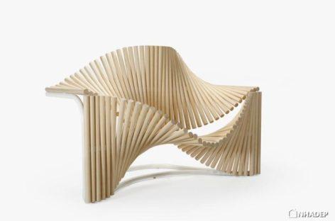 Chiếc ghế uốn lượn độc đáo của Eduardo Benamor Duarte