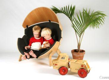 Chiếc ghế độc đáo được thiết kế cho trẻ em