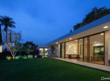 Biệt thự Ocho Jardiness với lối kiến trúc xanh và không gian mở được thiết kế bởi Goko MX