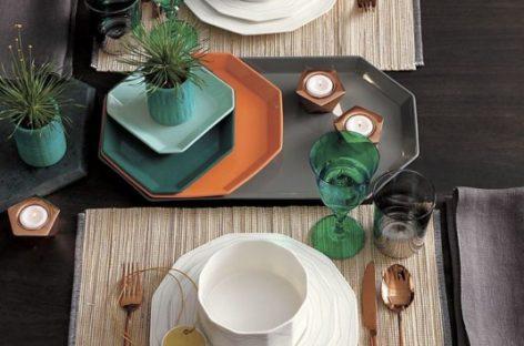 Trang trí bàn ăn với những vật dụng khác nhau