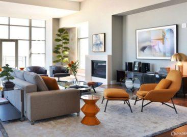 Căn hộ penthouse Carlyle Residence được thiết kế bởi Minotti