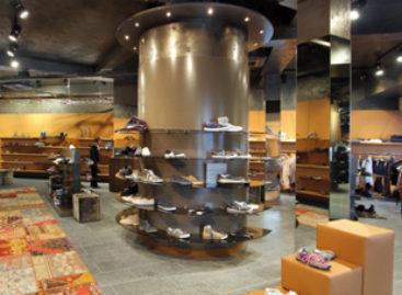 Chiêm ngưỡng vẻ mộc mạc của một cửa hàng giày ở Đức