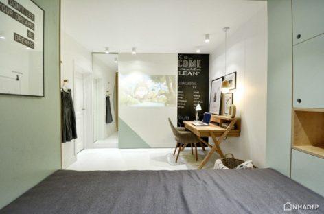 Phòng ngủ tích hợp hiện đại dành cho trẻ