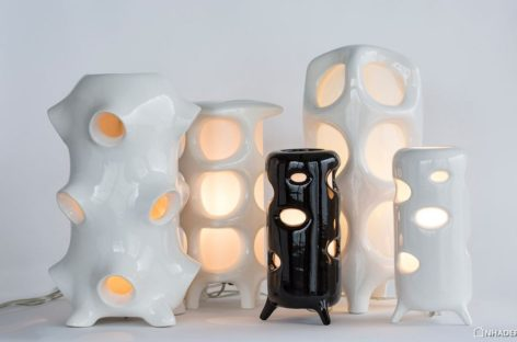 Bộ sưu tập đèn gốm của Entler