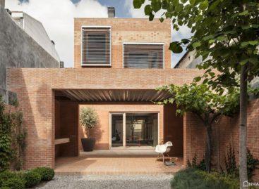 Căn nhà 1014 được thiết kế bởi H Architectes