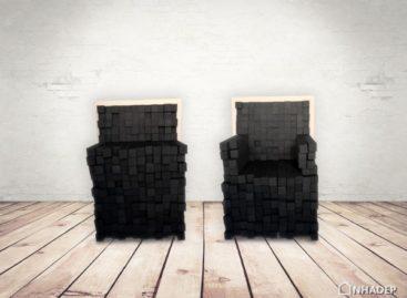 Sink In – chiếc ghế tùy chỉnh được thiết kế bởi Keren Shiker
